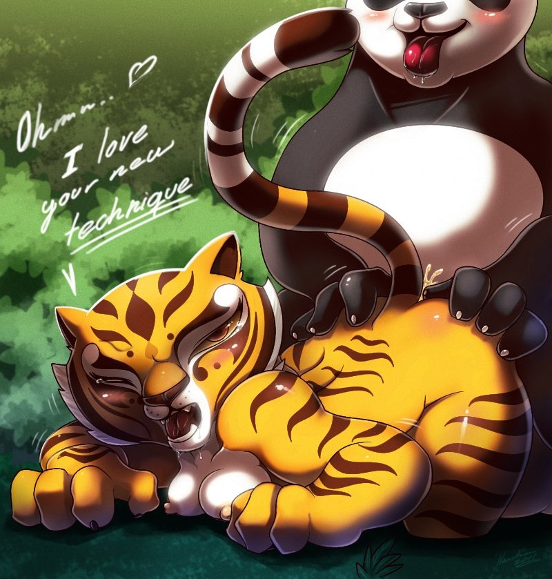 Kung-FU Panda (Tigress most than Panda, but some Yaoi)
