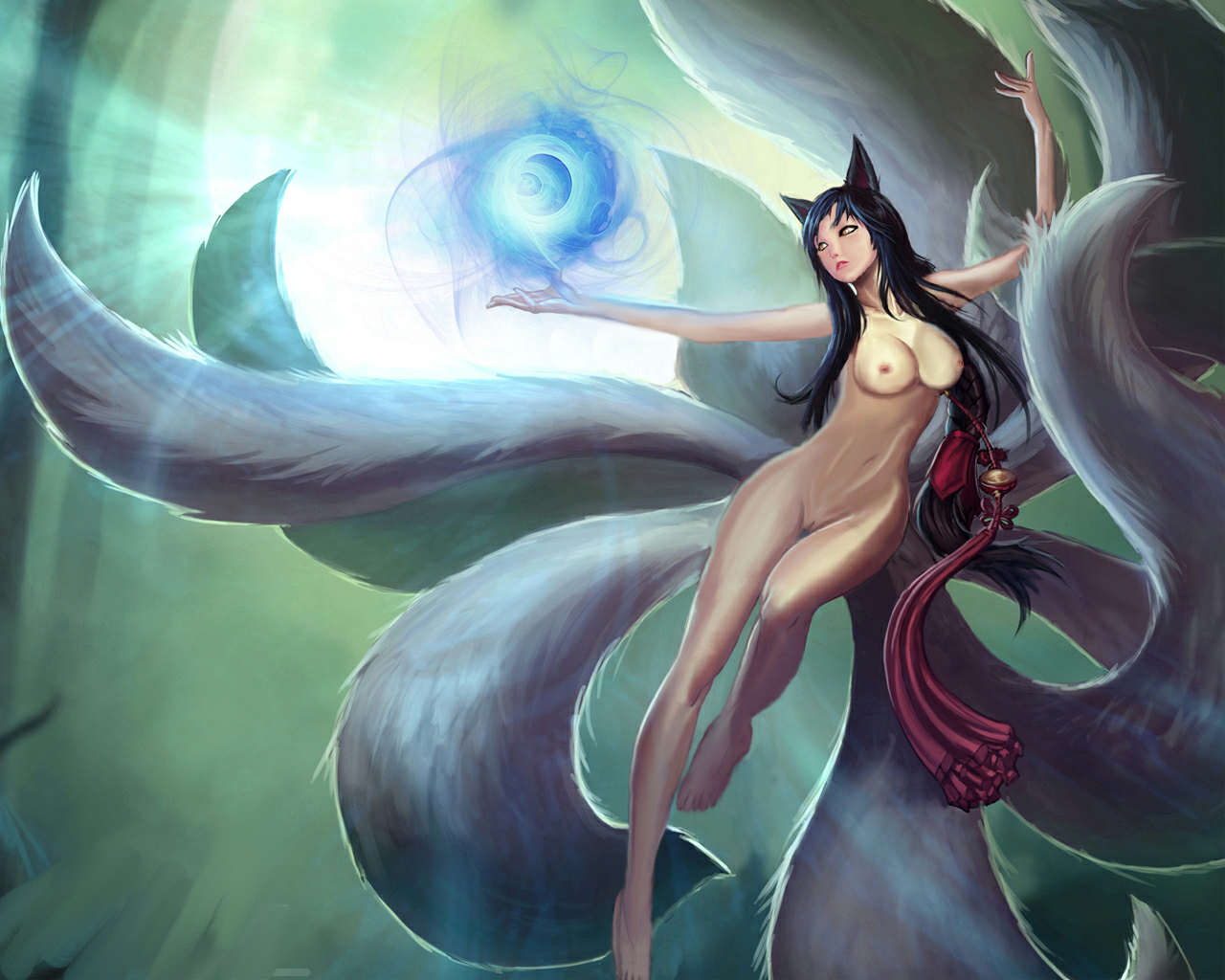 league of legends ahri porn
