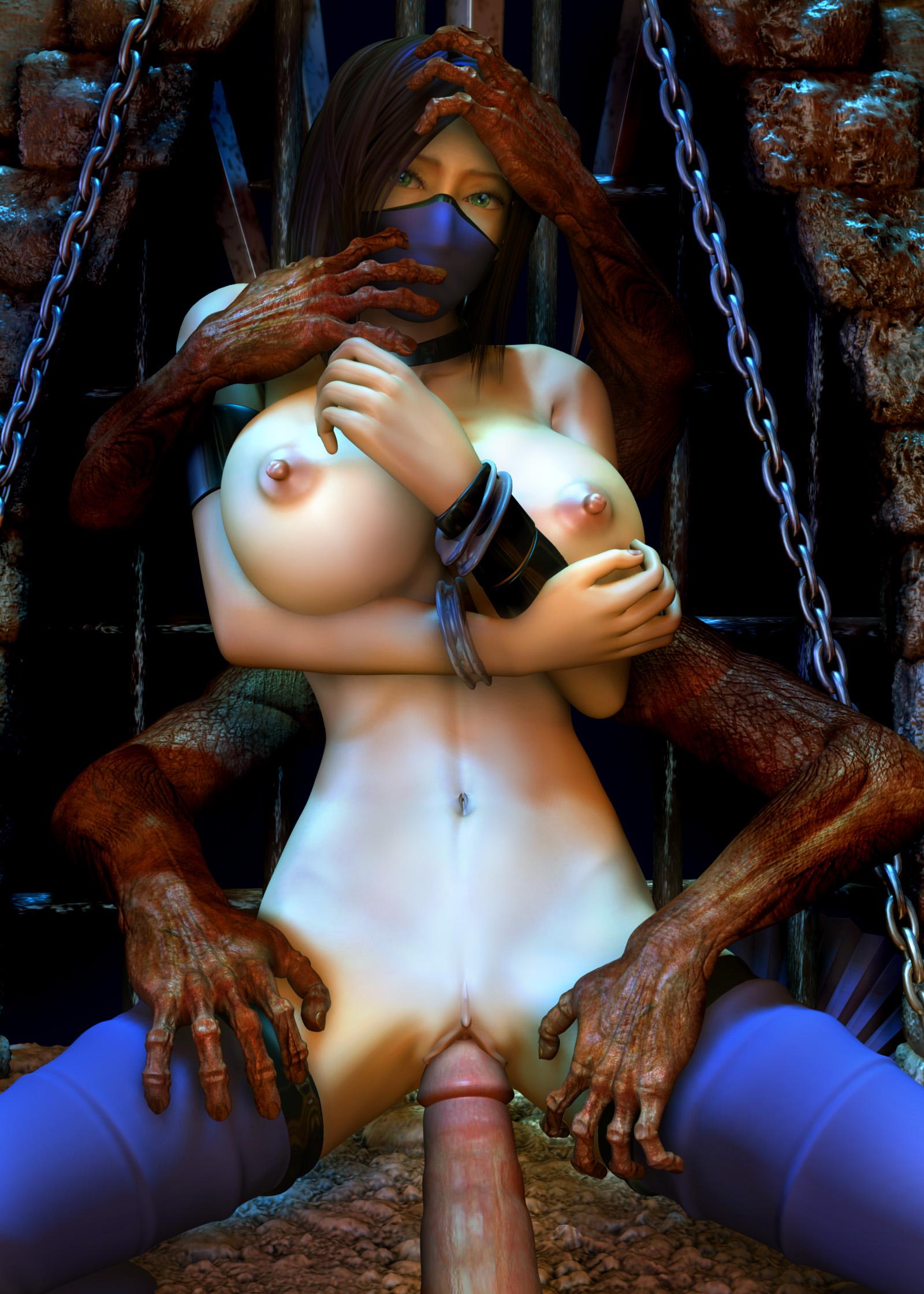 sexy naked mortal kombat girls