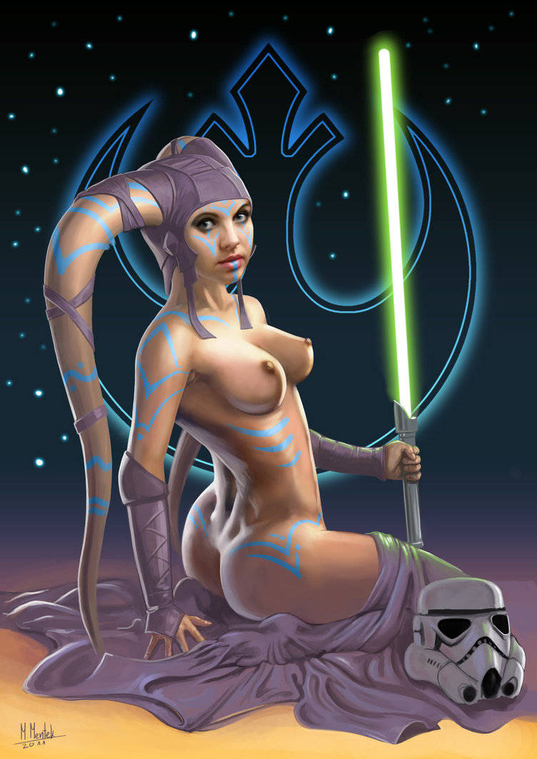 Naked star wars girl
