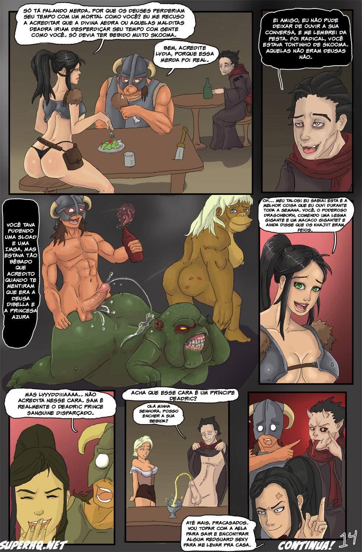 skyrim porn comic