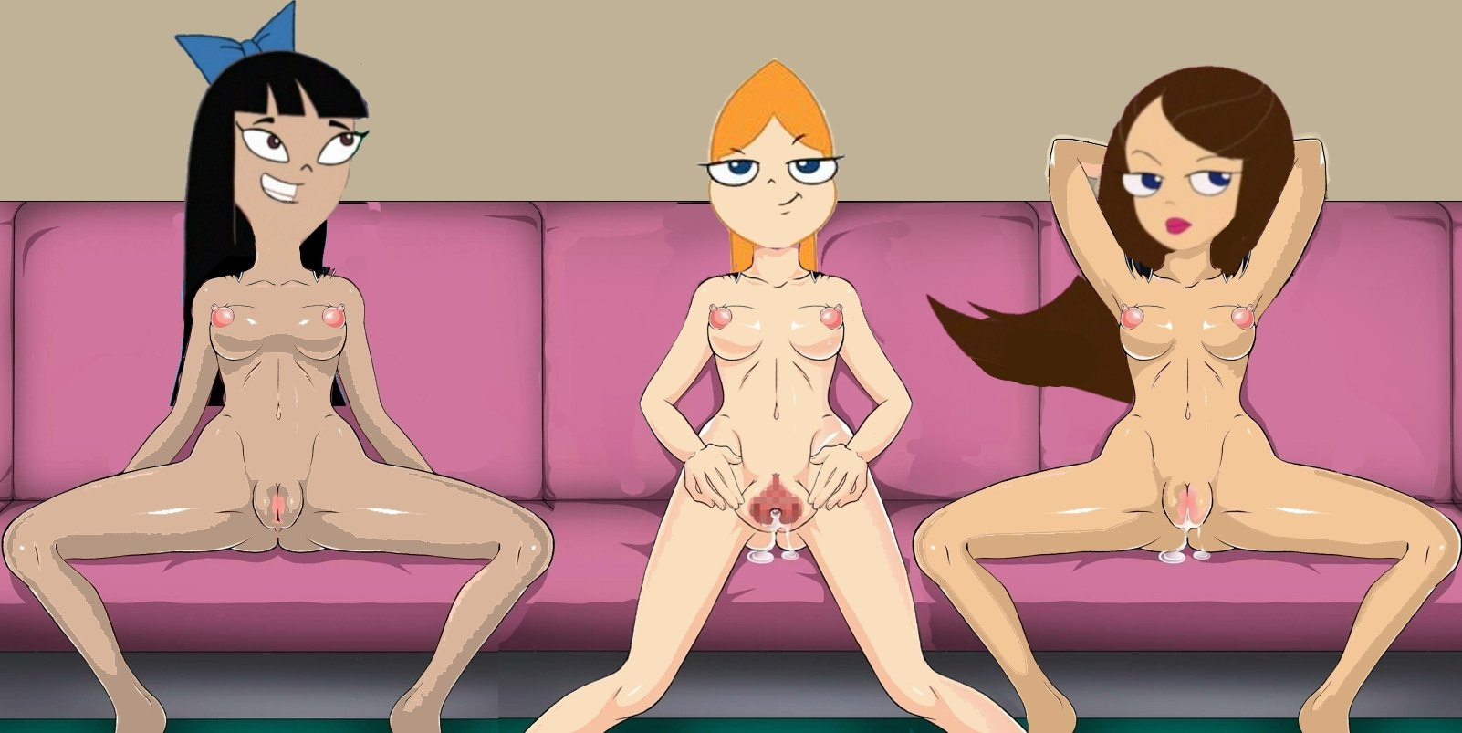 phineas and ferb hentai