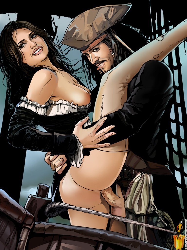 pirates of the caribbean porn