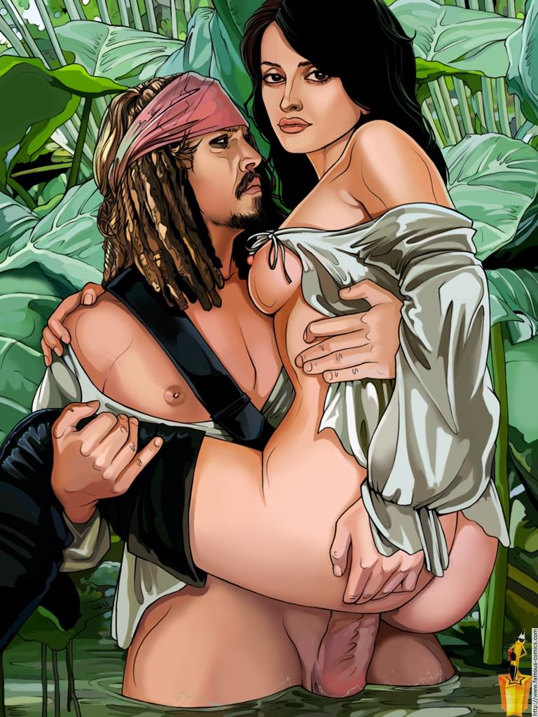 Pirates caribbean toon fuck