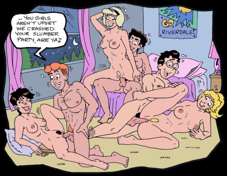 Archie Betty Comic Fucking Strip Veronica