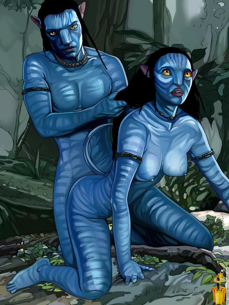 blue avatar porn