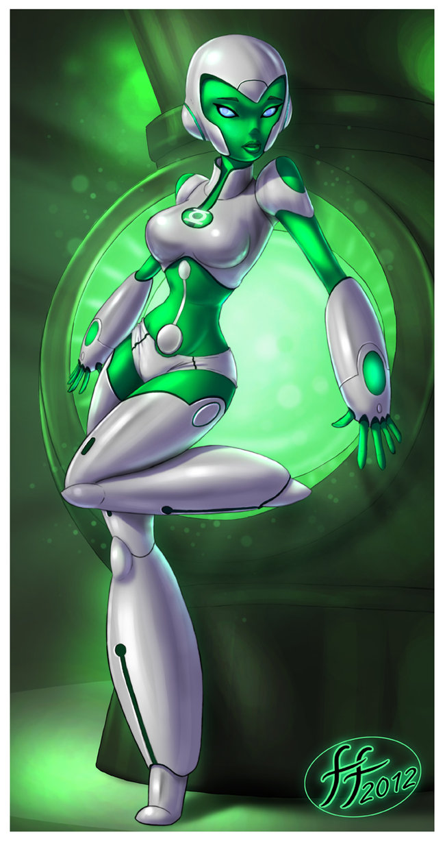 Green lantern the animated series porn