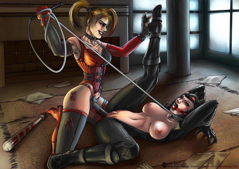 Harley quinn and batman hentai