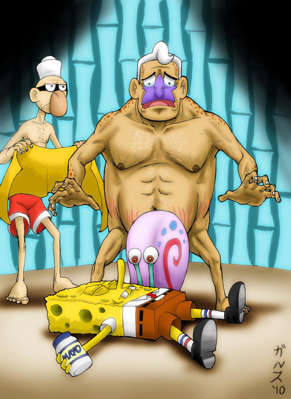 Gay spongebob hentai