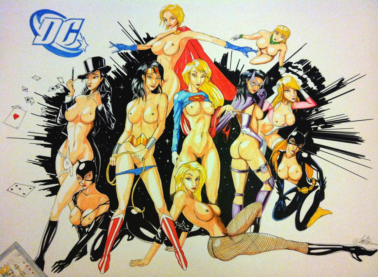 Hot comic girl nude