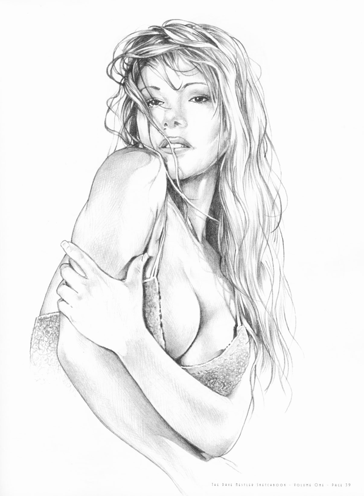 Sexy horny girl drawings