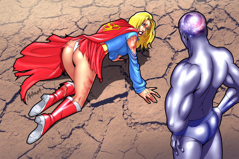 Cartoon comic dc erotic