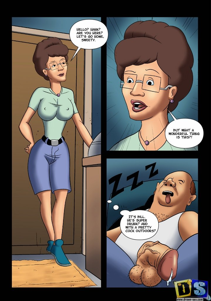 King of the hill porn comic