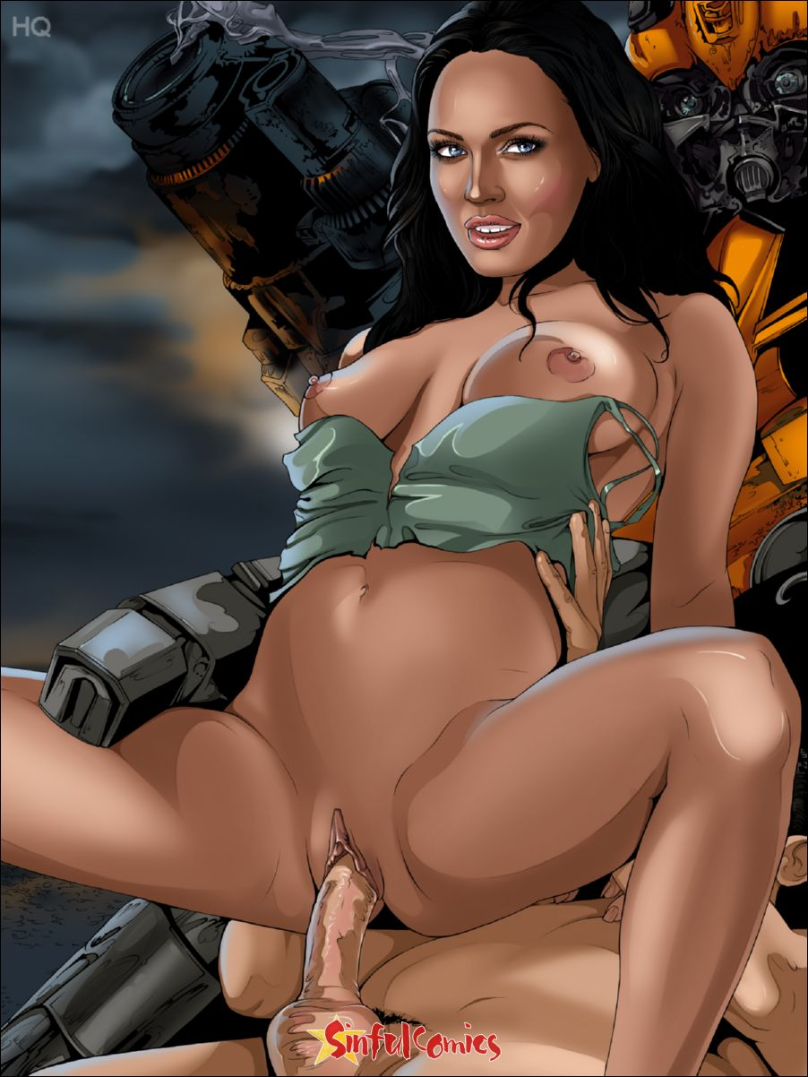 Megan fox transformers porn