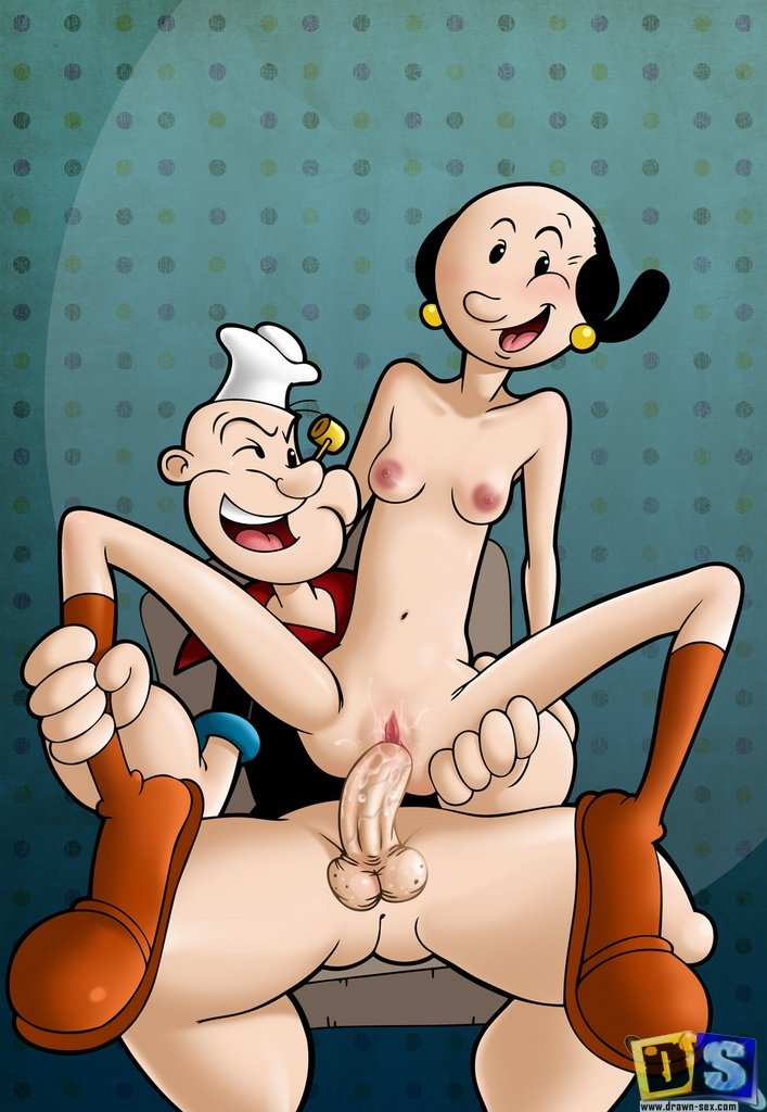 popeye and olive porn
