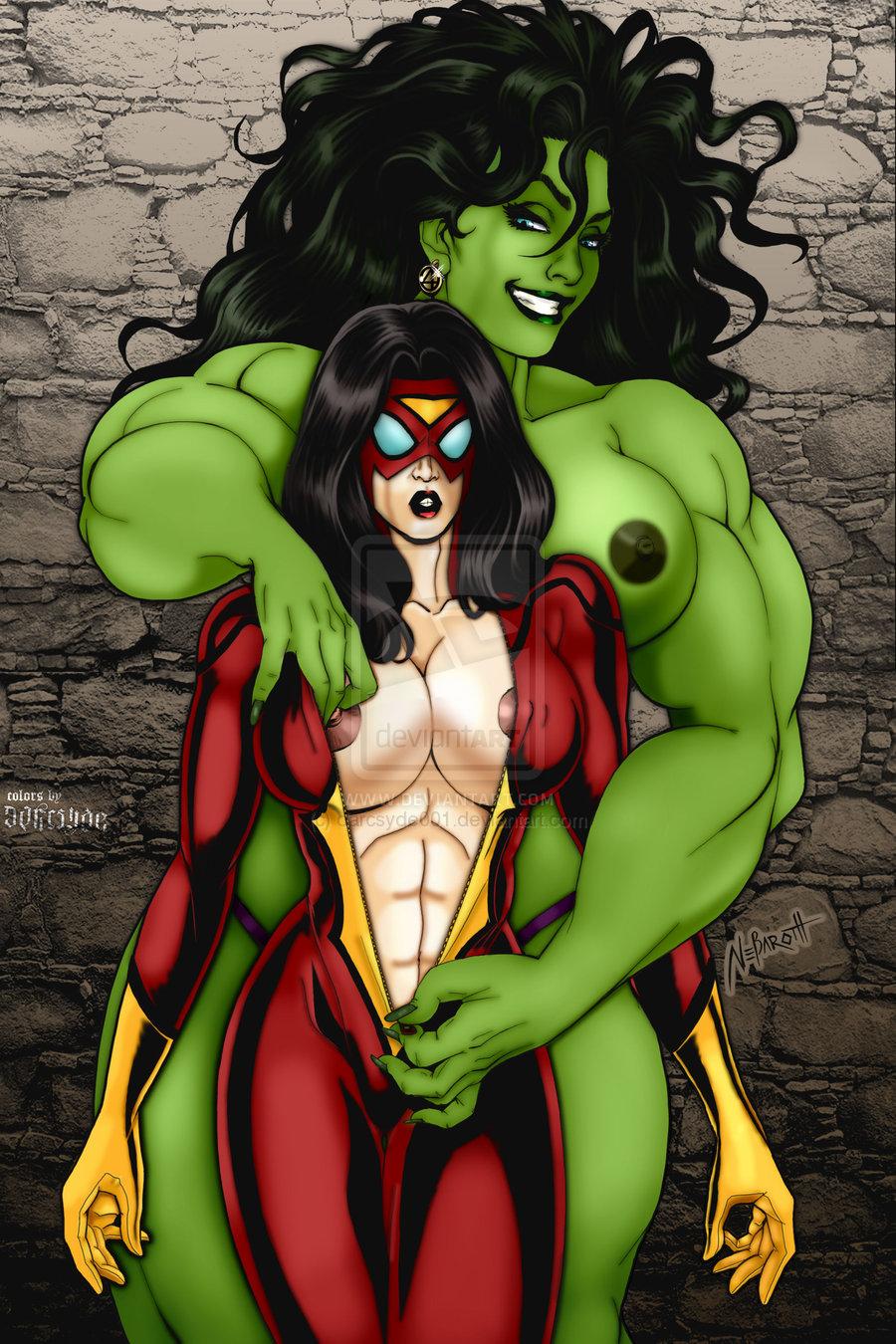 Hulk and she hulk porn