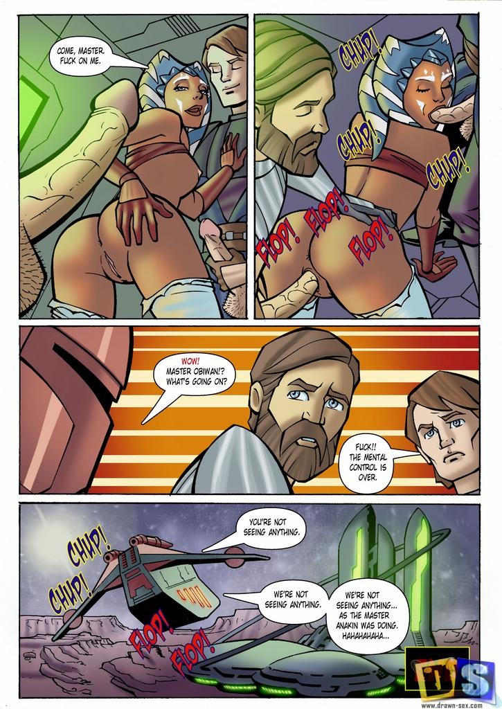 Звёздные войны анакин и асока секс