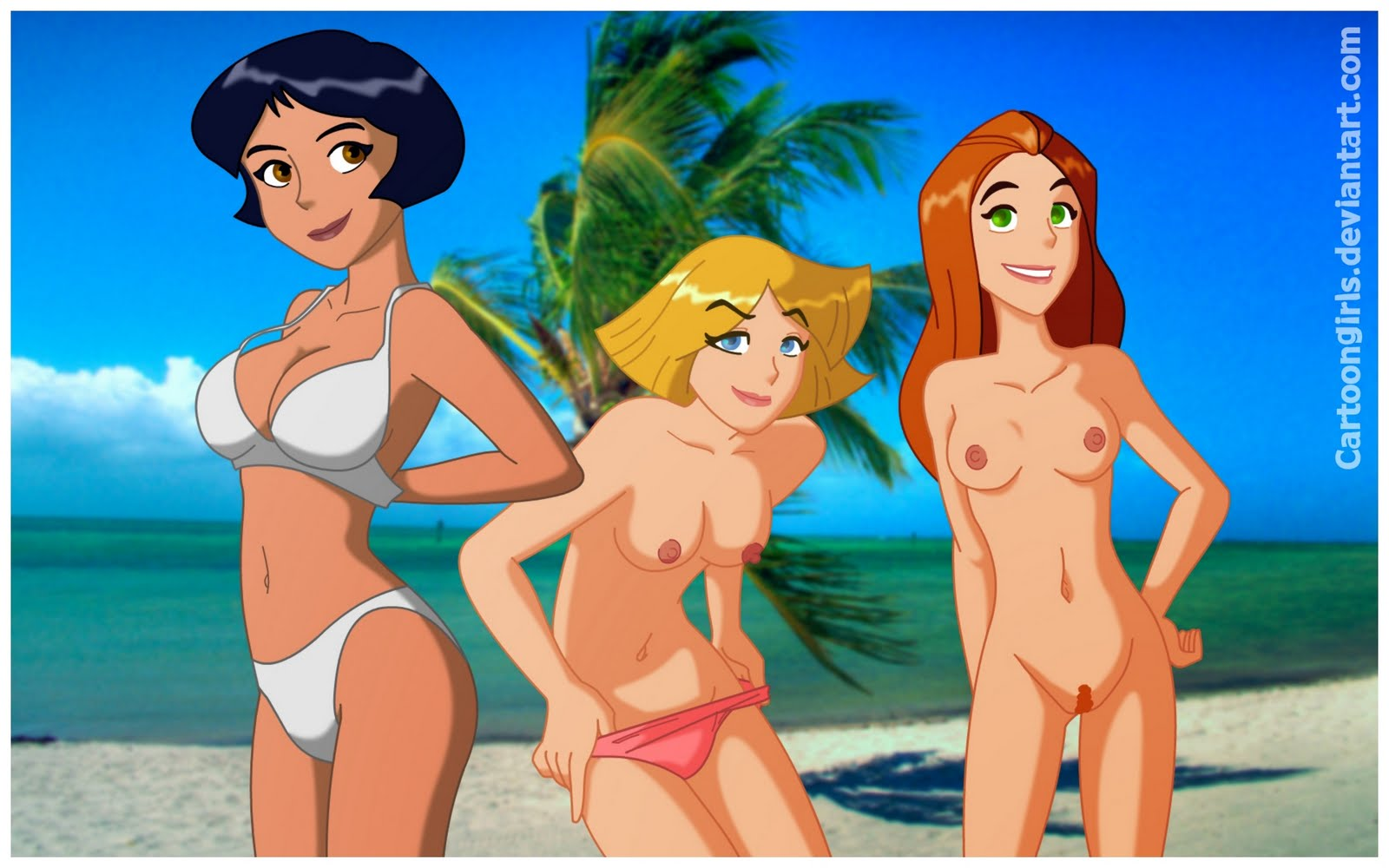 naked totally spies pictures