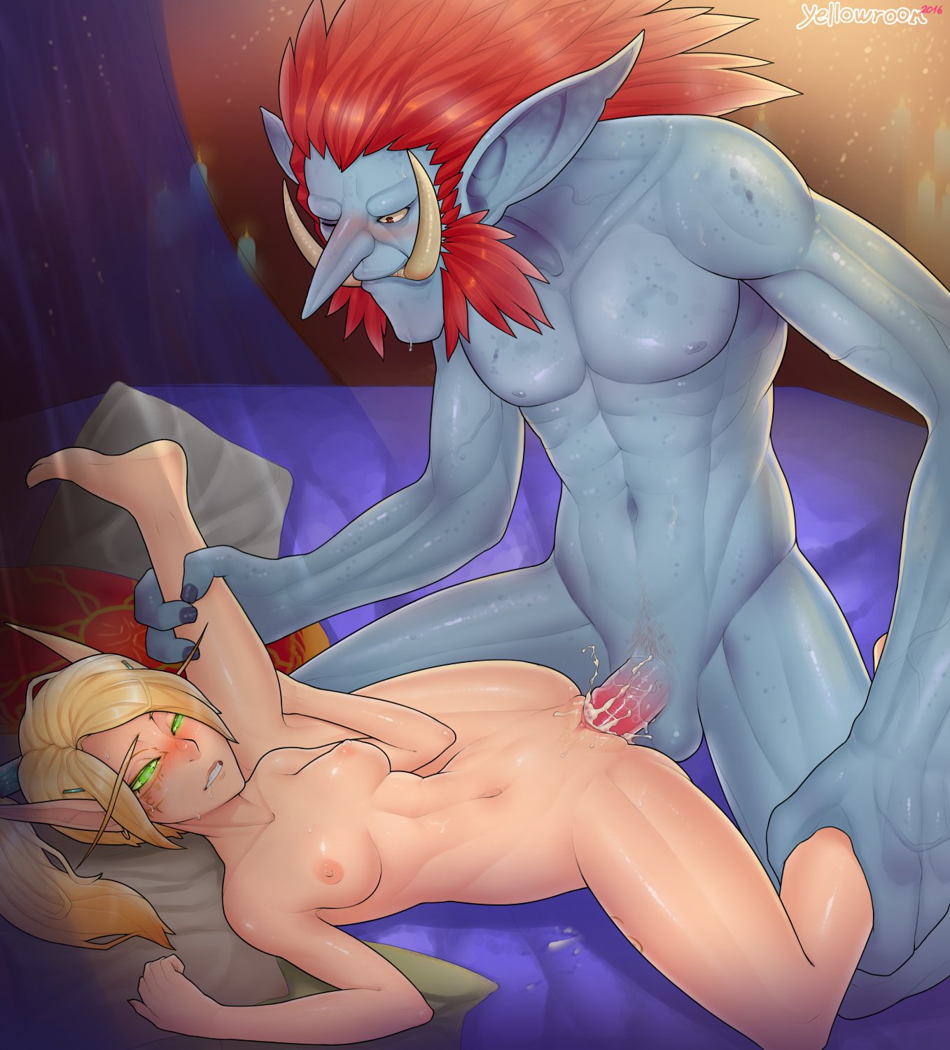 Elf rule 34 porn sex scene