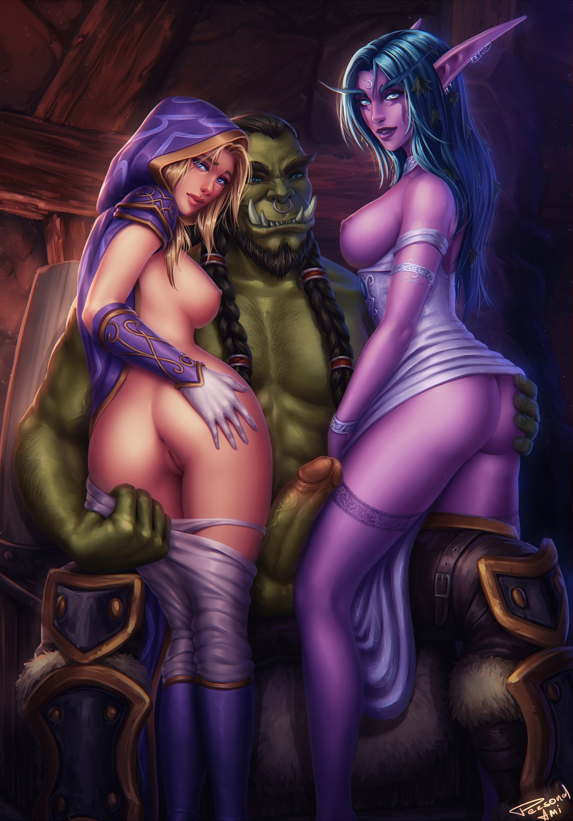 Naked jaina wallpaper warcraft cartoon vids