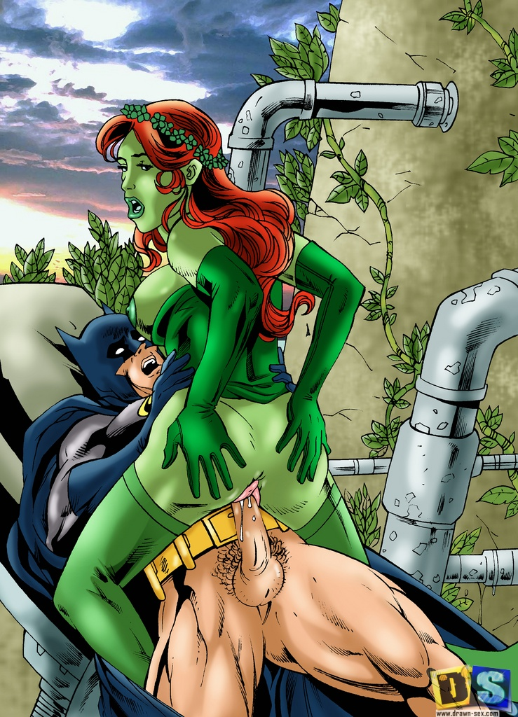 Poison ivy and porn batman