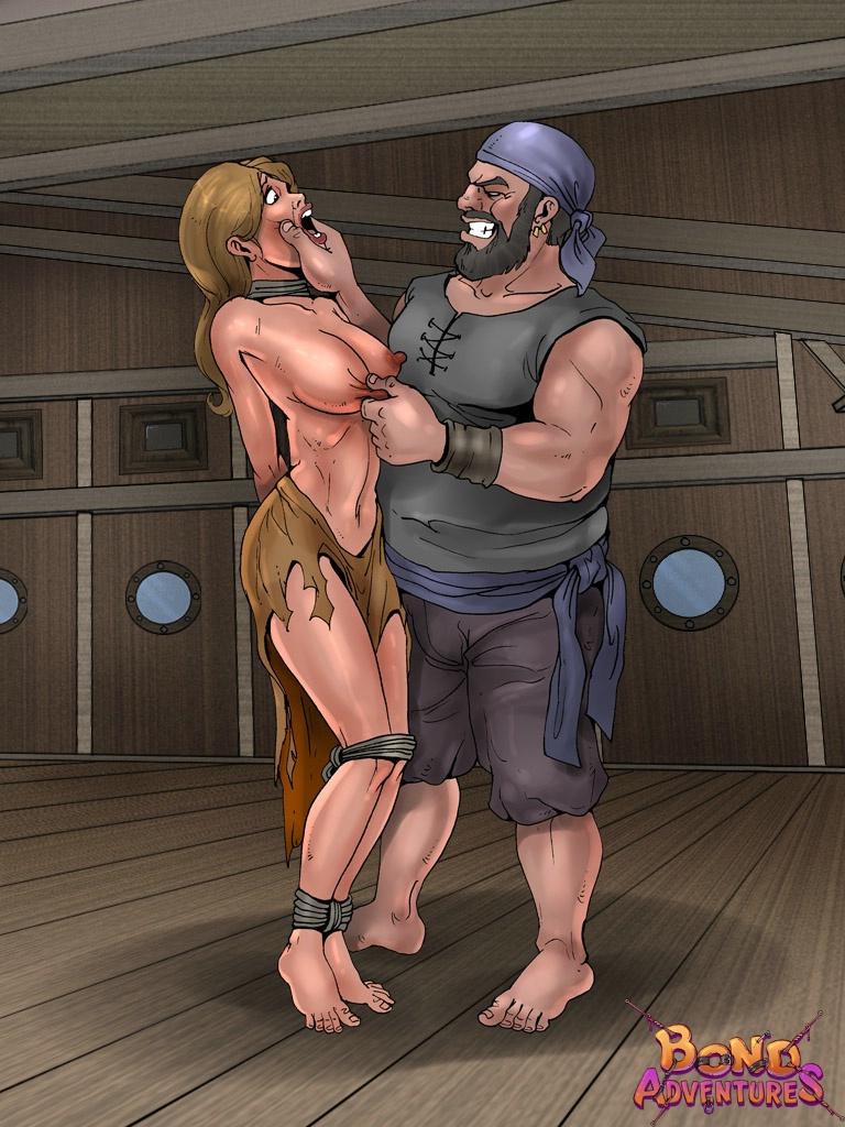 Zanzibar slave market BDSM comics