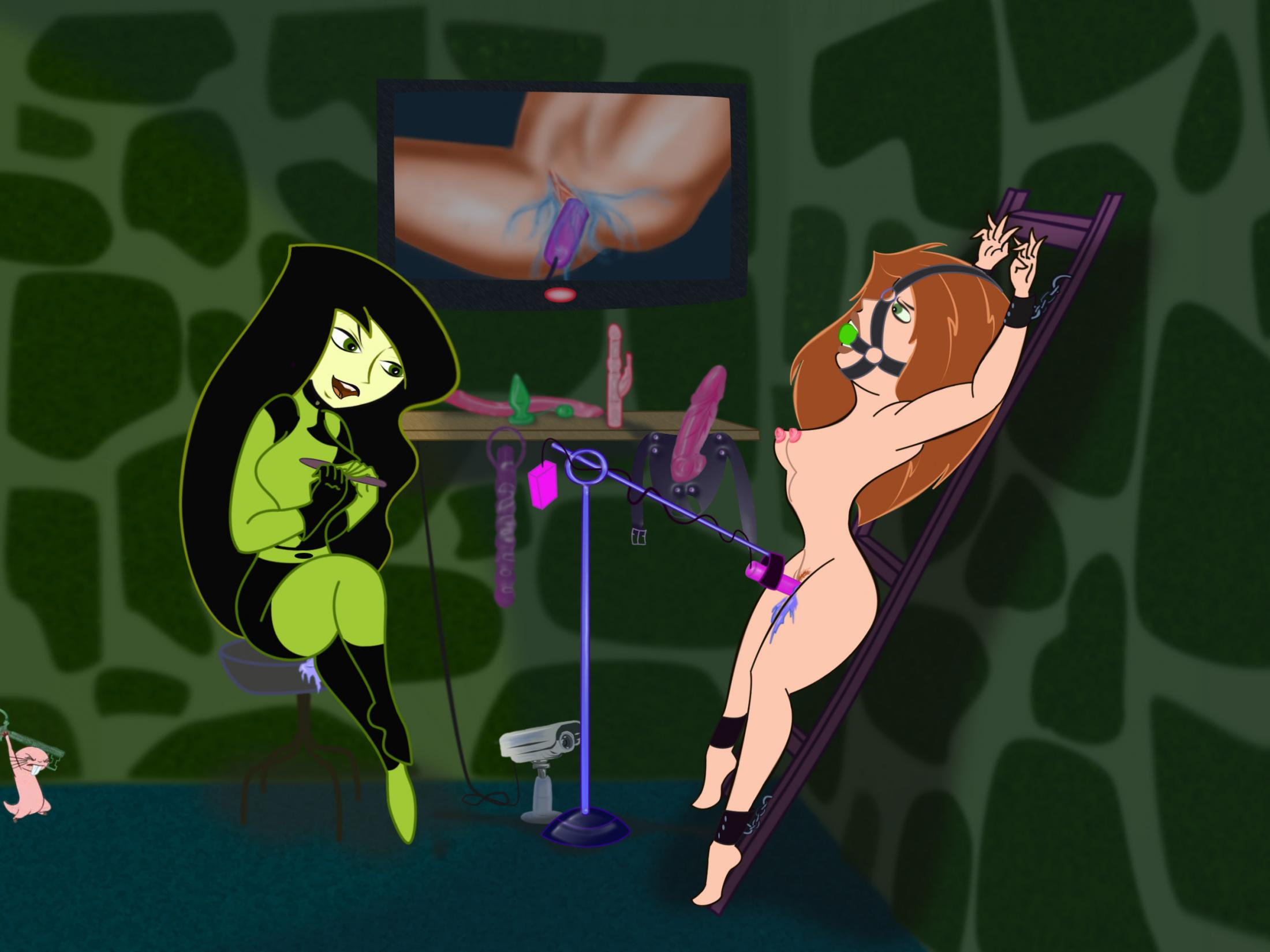 Kim possible bondage comic porn