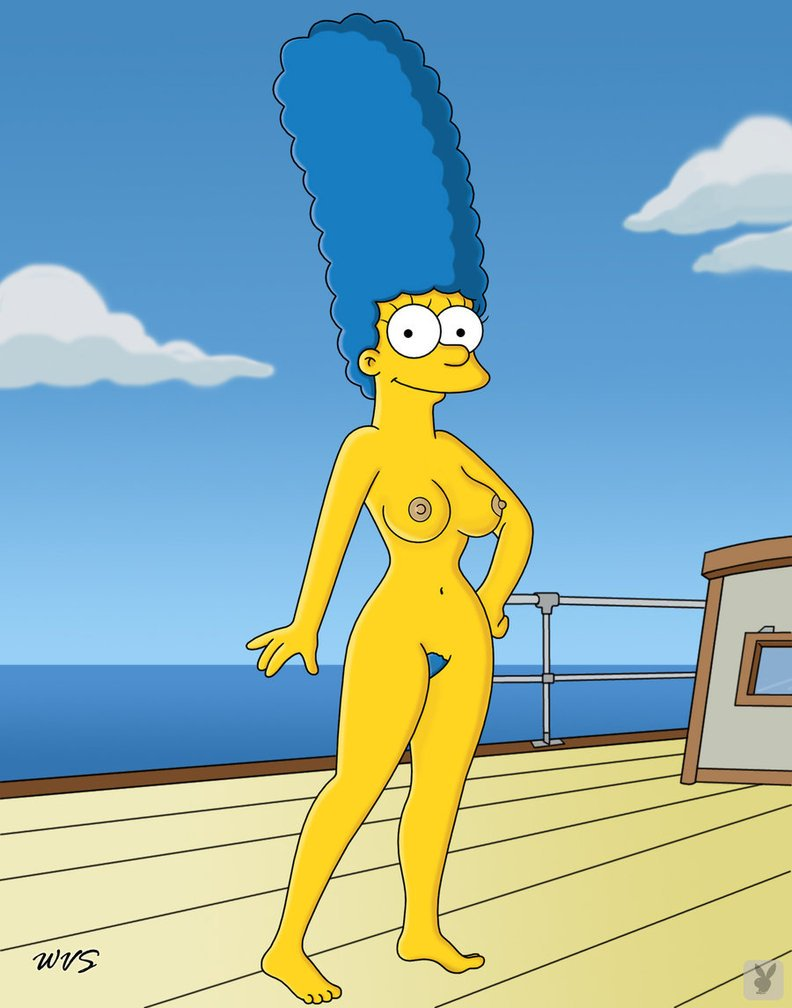naked girl the simpsons