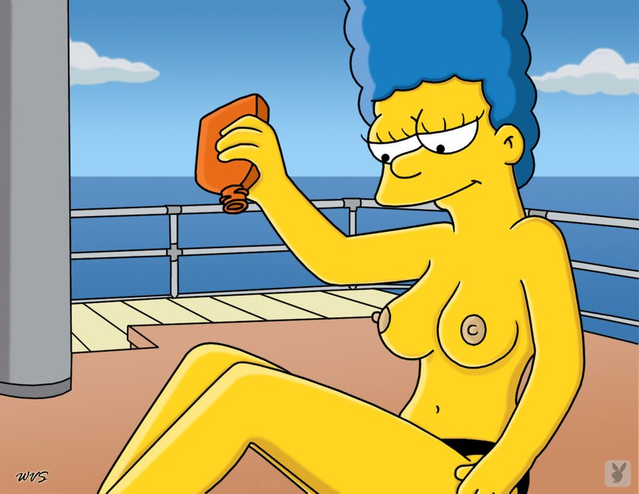 Simpsons Marge Nackt