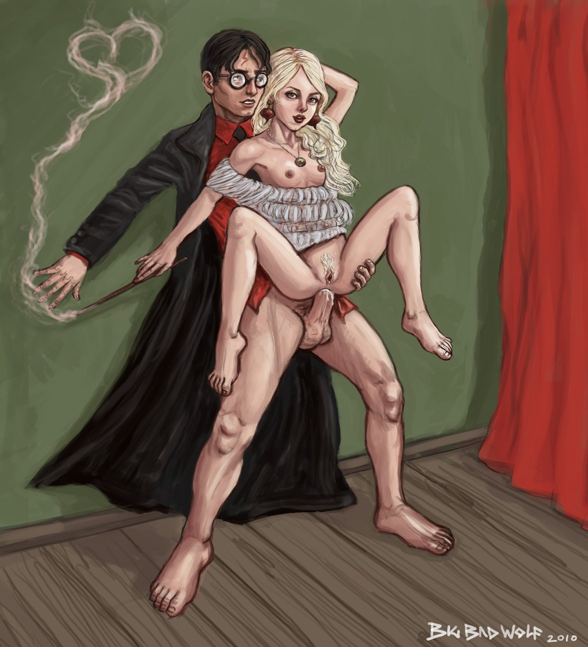 Luna Lovegood Sex