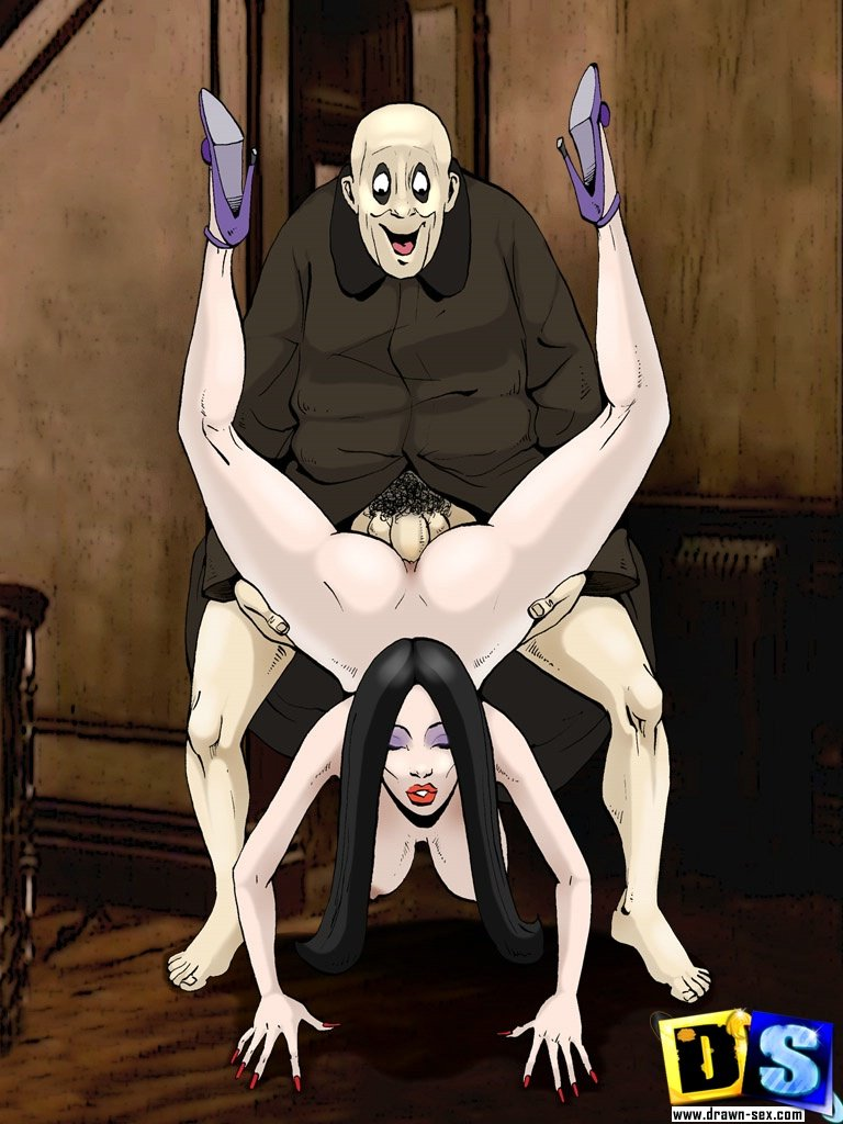 the addams family porn № 68441