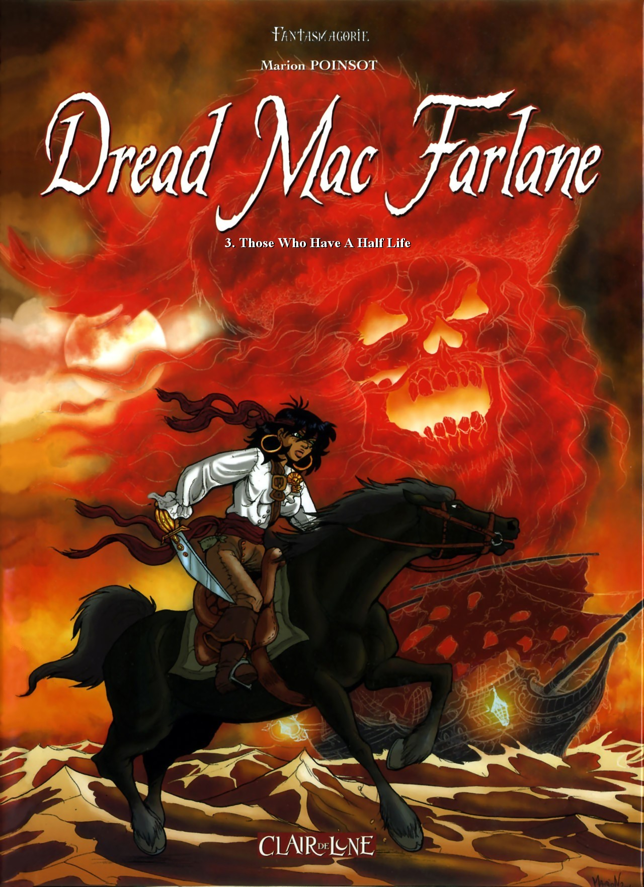 [Marion Poinsot] Dread Mac Farlane #3: Those Who Have A Half Life (Peter Pan) [English]