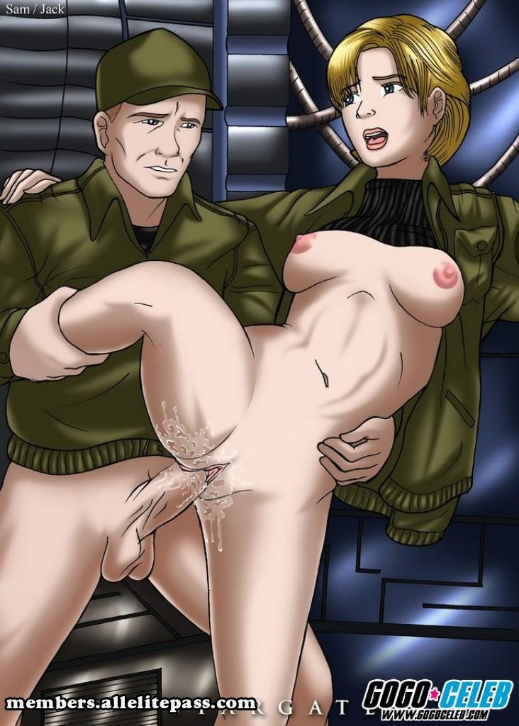 Stargate Atlantis Hentai