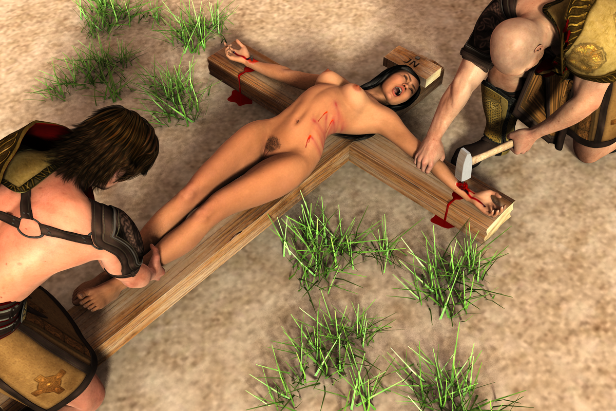 bdsm stories women crucified