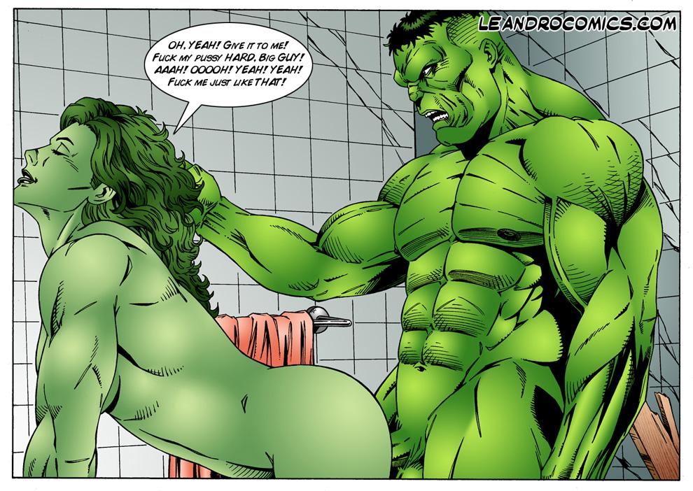 Hulk porn