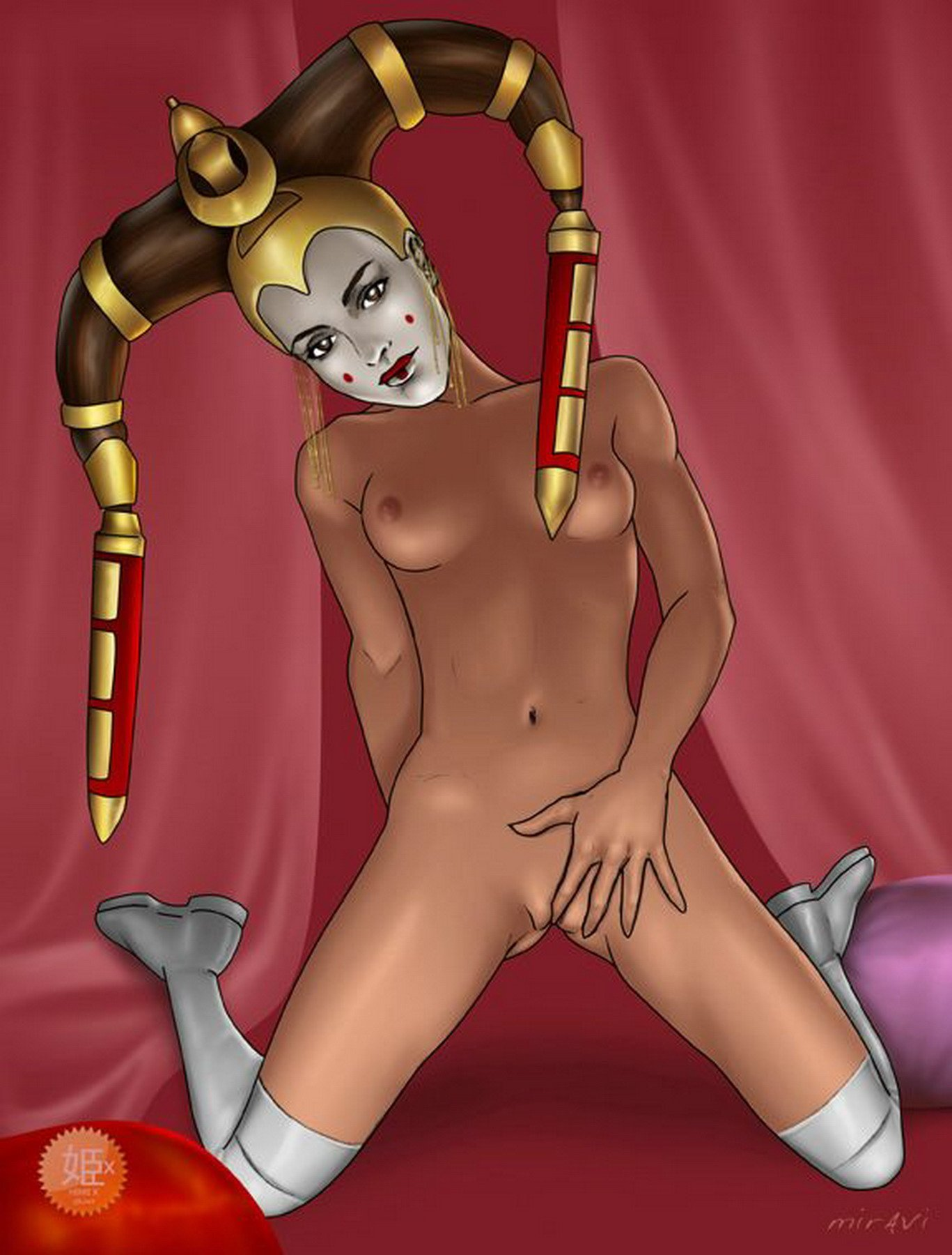 Star wars porn queen amidala nude photo