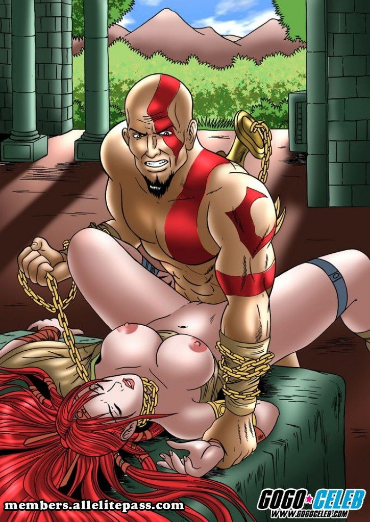god of war porn comics