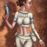 [Umbrafox] Padme Commission (Star Wars)