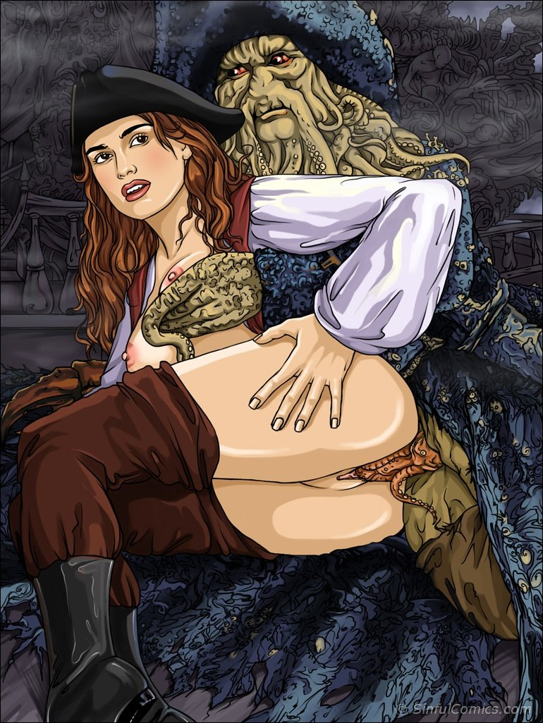 Pirates of the carribean porn