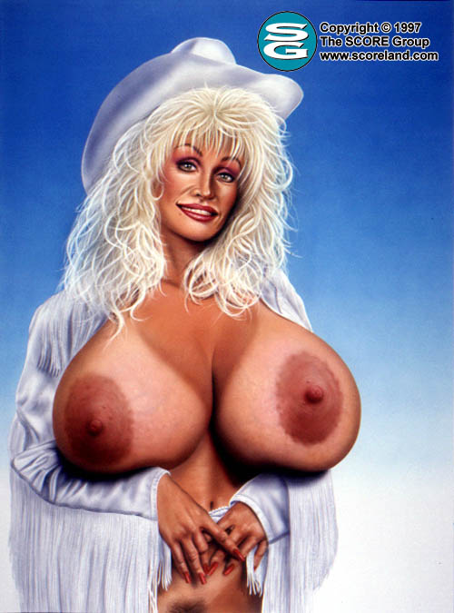 dolly parton breast pics