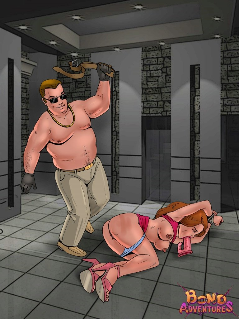 Bond Adventures bdsm artwork
