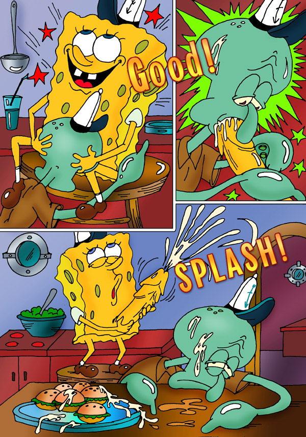 spongebob gay hentai