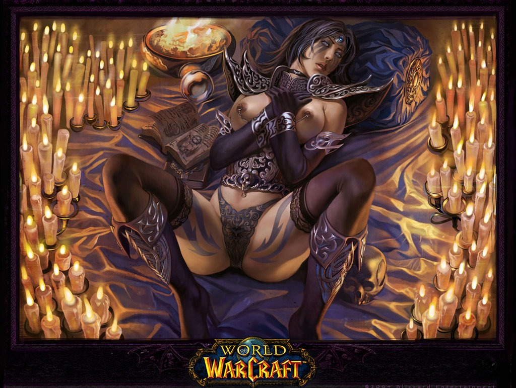 Sexy warcraft world art of