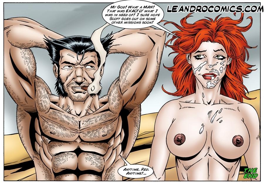 Секс комиксы росомаха 49823 фотография