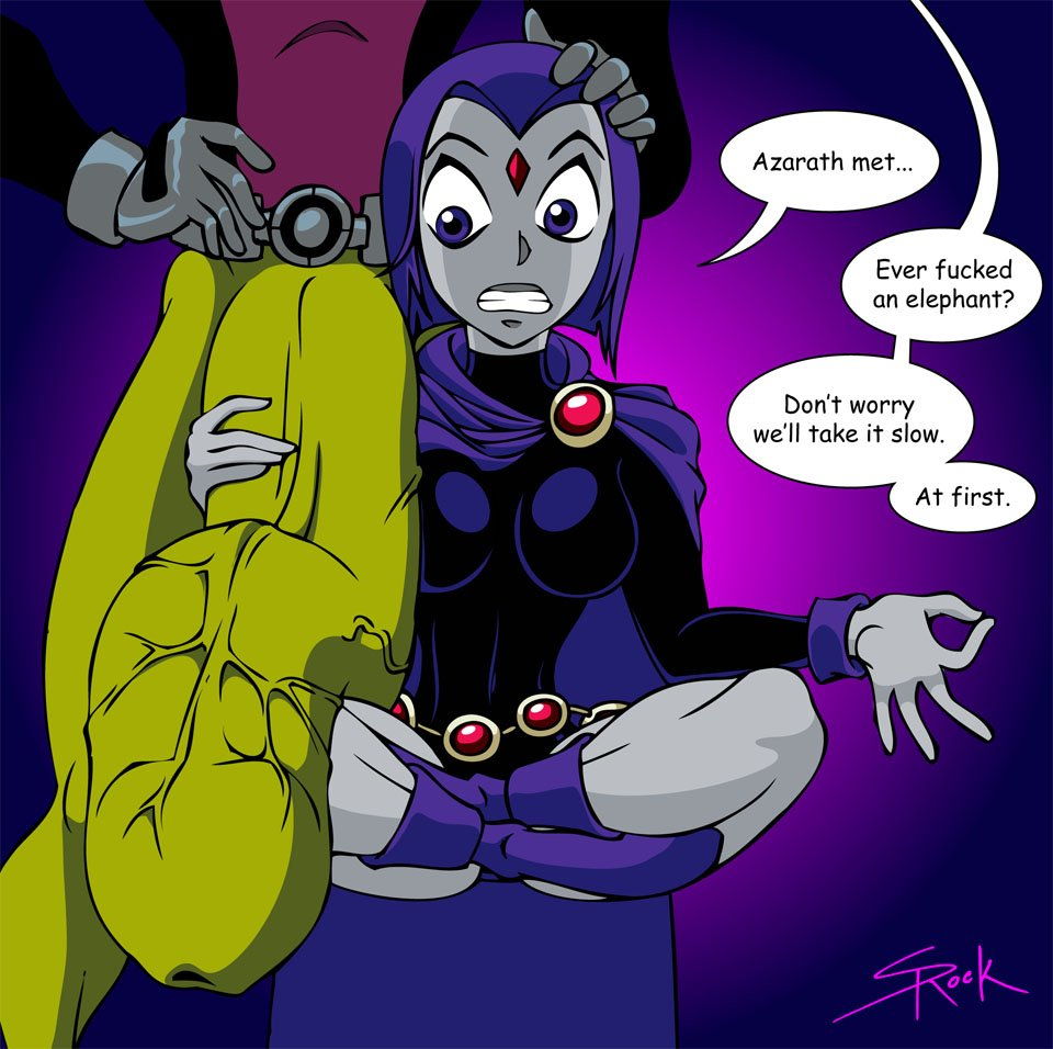 Raven and beast boy porn