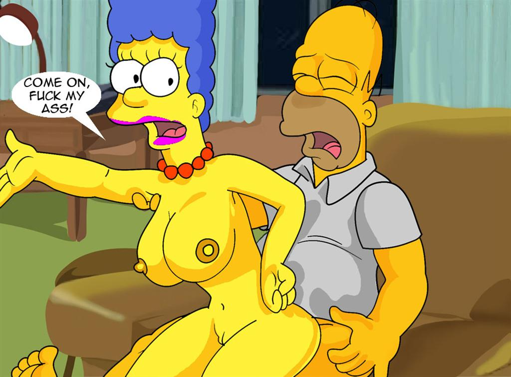 Marge Simpsons Porno