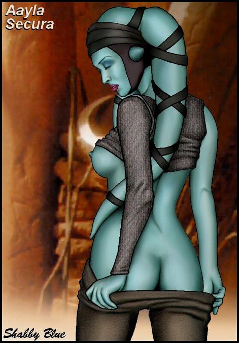 shabby blue ahsoka tano nackt