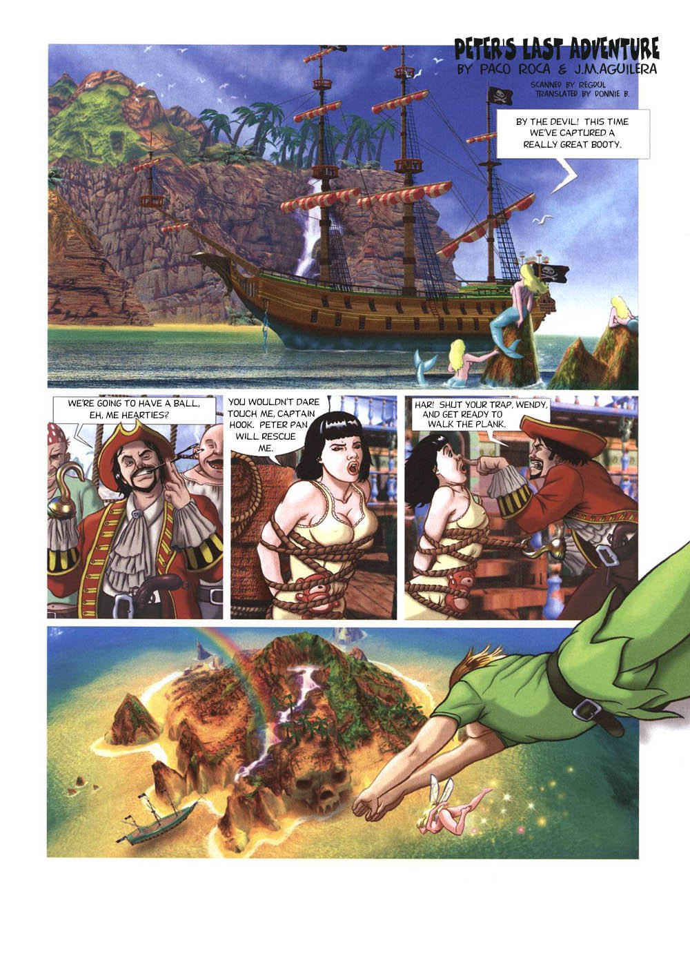 [Paco Roca, J. Aguilera] Peter's Last Adventure (Peter Pan) [English] {Donnie B.}