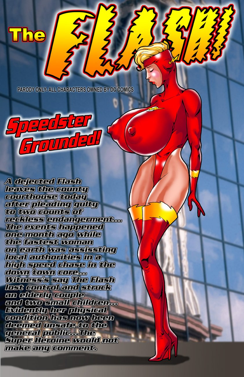 the flash porn comics
