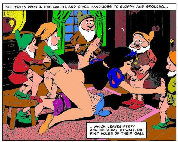 Snow white and the seven dwarfs sex